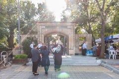 Hz joshua profeta cmentarz Istanbul obrazy stock