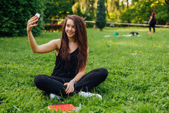 I'm looking great, need to take a selfie. royalty free stock photo