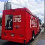 I've besó a Elvis fotografía de archivo libre de regalías