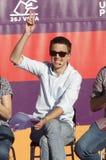 Iñigo Errejon o número dois do partido político Podemos Imagem de Stock Royalty Free