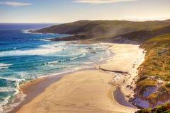 Iögonfallande strand Royaltyfria Foton