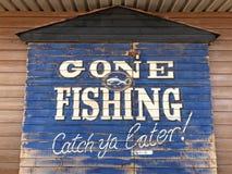 Iść łowić zdjęcie stock
