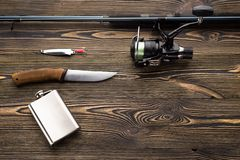 Iść łowić, pojęcie Zdjęcie Stock