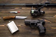 Iść łowić, pojęcie Obraz Stock
