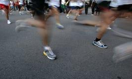 iść na piechotę biegaczów Zdjęcia Stock