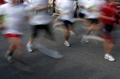 iść na piechotę biegaczów Zdjęcie Royalty Free