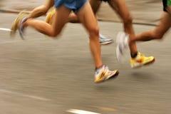iść na piechotę biegaczów Fotografia Royalty Free