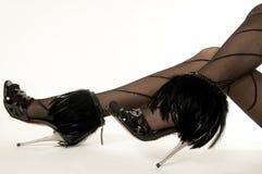 iść na piechotę seksownych buty Obraz Royalty Free