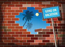 Iść na wakacje Zdjęcie Royalty Free