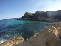 Iść Pro Mallorca zdjęcia royalty free