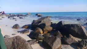 Iść wycieczki natury plaży wyspy krajobrazowa fotografia szczerze zdjęcia stock