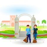 Iść zieleń Iść Czystą ilustracja wektor