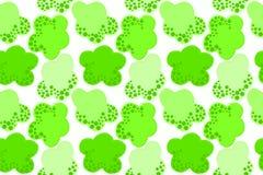 Iść zielonego pojęcia bezszwowy tło Obrazy Stock
