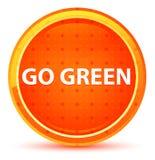 Iść Zielony Naturalny Pomarańczowy Round guzik ilustracja wektor