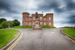 Iνβερνές Castle στοκ φωτογραφία με δικαίωμα ελεύθερης χρήσης