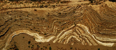 I-14 Anticline Stock Photo