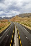 I-15 near Virgin River Royalty Free Stock Photos