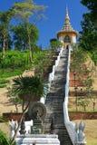 I 200 gradini di Buddha. Pattaya. La Tailandia fotografia stock