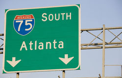 I-75 Atlanta Stock Photography