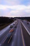 I-75 Knoxville al crepuscolo Immagini Stock Libere da Diritti