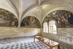 I abbotskloster Royaltyfria Bilder