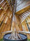 I abbotsklostersmokeryen Royaltyfri Bild
