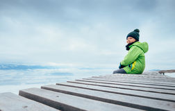 Free I Am Sit Just Over The Clouds Royalty Free Stock Image - 85824716