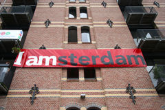 I Amsterdam Stockfotos
