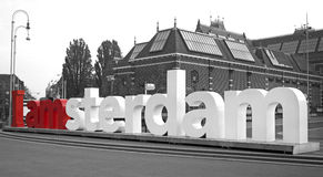 I am amsterdam Stock Images