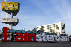 I Amsterdam Royalty Free Stock Images