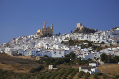 by i Andalusia Spanien Arkivfoto