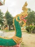 I andra hand grön Naga Royaltyfri Fotografi