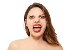 I am so angry! Royalty Free Stock Photography