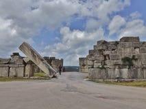 I antika Messenia: Arcadic port Royaltyfri Bild