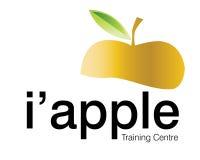 I'apple instructional Centre. Logo Design for fresh iinstructional Centre Royalty Free Stock Image