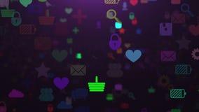 I Apps avvolgono i giri della velocità royalty illustrazione gratis