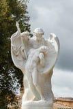 I armarna av en ängel Arkivbilder