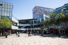 I Asien öppnar Peking, Kina, shoppingområdet, Taikoo Li Sanlitun Royaltyfri Foto