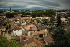 I Avignon Frankrike Arkivbilder