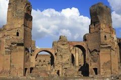 I bagni di Diocleziano Fotografie Stock Libere da Diritti