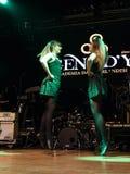 I ballerini irlandesi esegue a Live Music Club il MI 16-03-2018 Immagini Stock Libere da Diritti