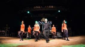 I ballerini irlandesi esegue a Live Music Club il MI 16-03-2018 Fotografie Stock