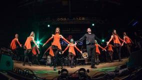 I ballerini irlandesi esegue a Live Music Club il MI 16-03-2018 Immagini Stock