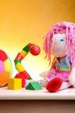 I bambini dei giocattoli di svago si chiudono su Fotografia Stock