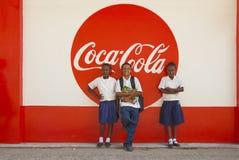I bambini del coke Fotografia Stock