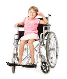 I bambini handicappano l'immagine concettuale immagine stock libera da diritti
