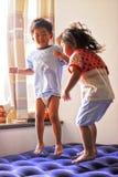 I bambini stavano giocando Fotografia Stock Libera da Diritti