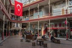 I bazar meravigliosi di Costantinopoli, Turchia fotografia stock
