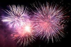 Fuochi d'artificio 2 Fotografie Stock