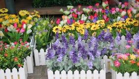 I bei fiori nel negozio di fiore Fotografia Stock Libera da Diritti